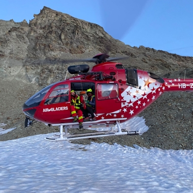 Deux alpinistes secourus aux Aiguilles Rouges d'Arolla