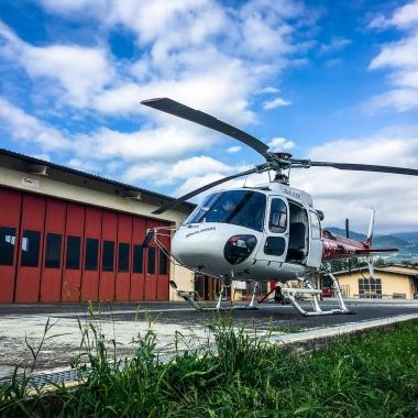 Baptêmes de l'air & visite de la base Air-Glaciers Collombey