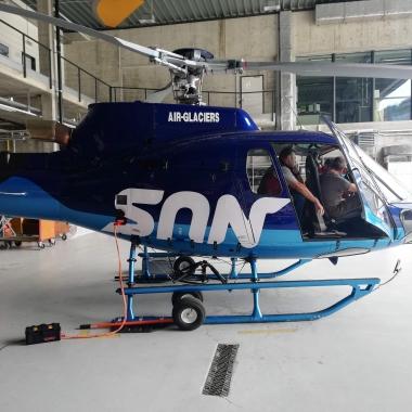 Die HB-ZOU stösst zur Air-Glaciers Flotte