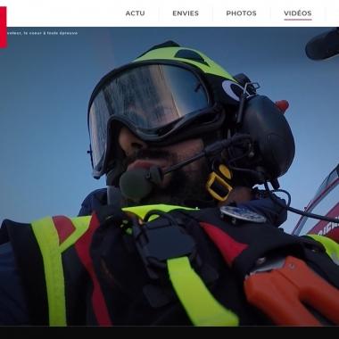 Reportage sur notre guide-sauveteur Jonathan Bruchez